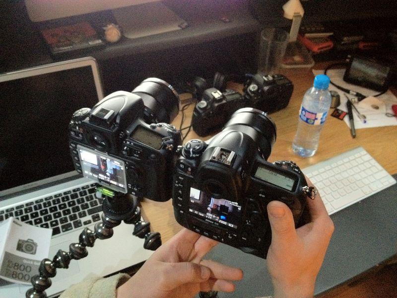 Nikon D4 & D800